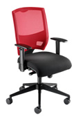 Mesh-backed chair ES152