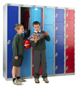 Vedette 8 high lockers
