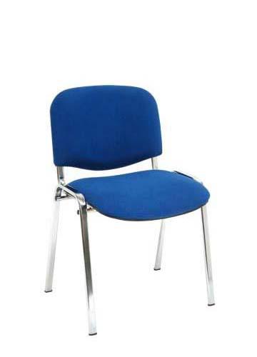 Chrome frame chair