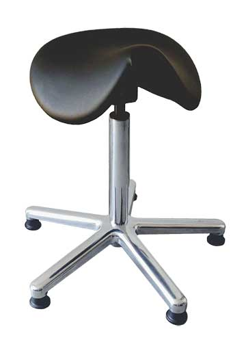 ESD rated Saddle Stool Model 107-PU